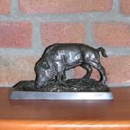 Sanglier en bronze